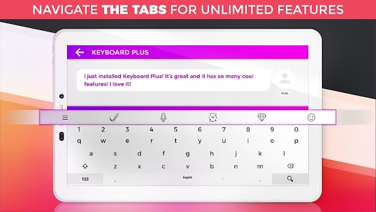 Keyboard Plus Emoji- screenshot thumbnail