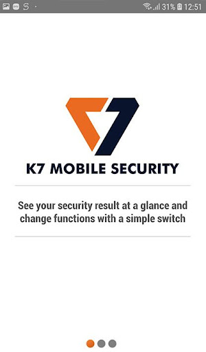 K7 Mobile Security 3.1.19 screenshots 1