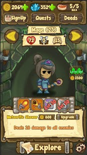 Dungeon Loot - dungeon crawler Screenshot