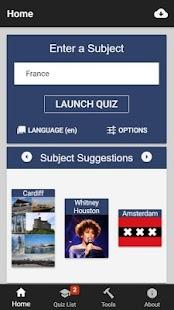 Quiz the World - náhled