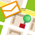 SendMap Mail Map icon