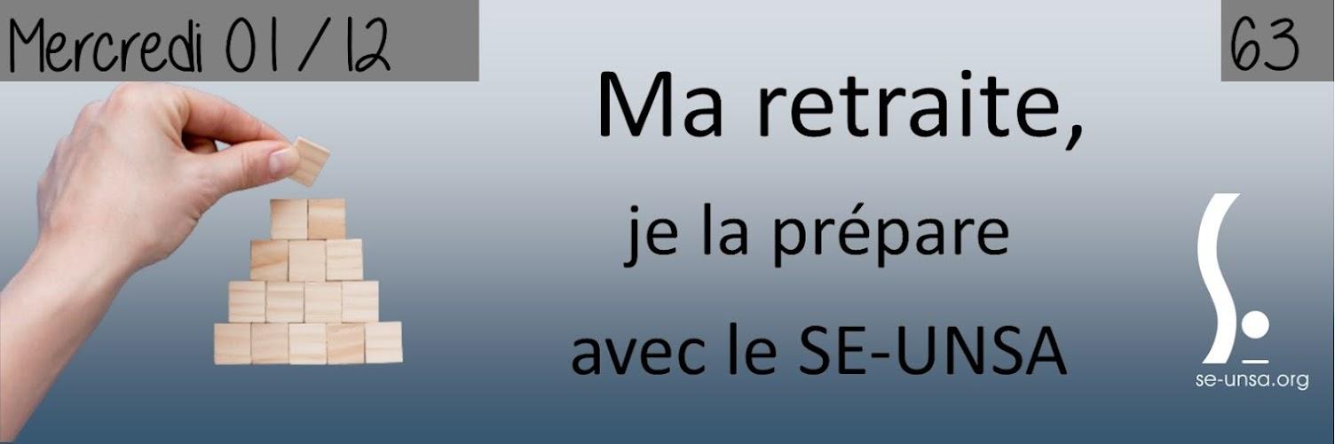 """Stage """"préparer sa retraite"""" du 1er décembre"""