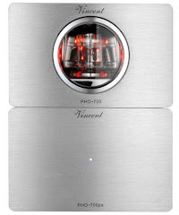 PHO-700 Silver Front, Phone Preamplifier from Vincent Audio in the UK