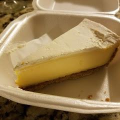 Mike's Pie Inc, GF key lime pie. Tampa, FL