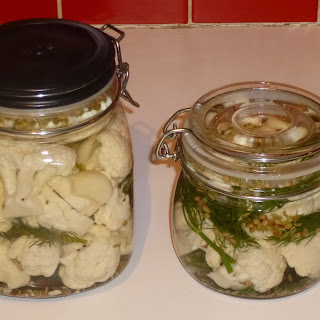 Pickled Cauliflower With Dill Recipes