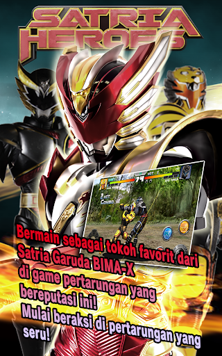 SATRIA HEROES /from Satria Garuda BIMA-X and MOVIE  screenshots 11