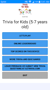 Trivia for Kids (Age 5-7) - náhled