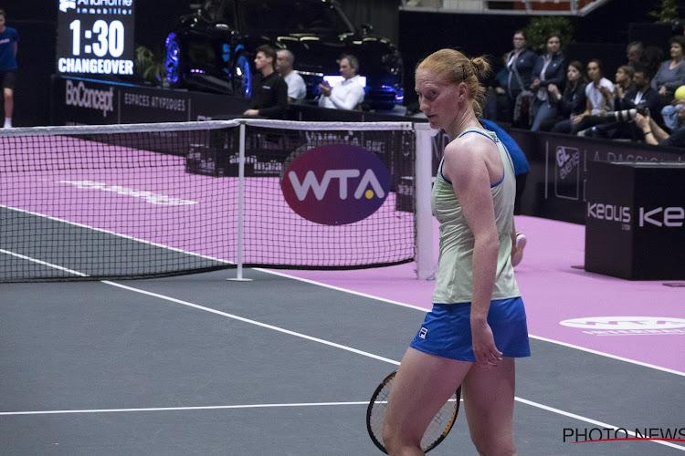 Voormalige Roland Garros-finaliste te sterk voor Alison Van Uytvanck in Luxemburg