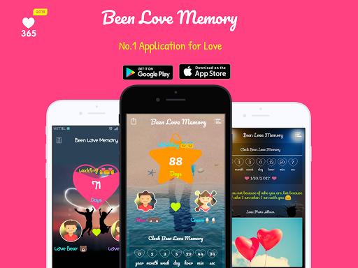 Been Love Memory - Love Counter - Love days 2018  screenshots 1
