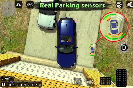 Manual gearbox Car parking MOD (Unlimited Money) 3