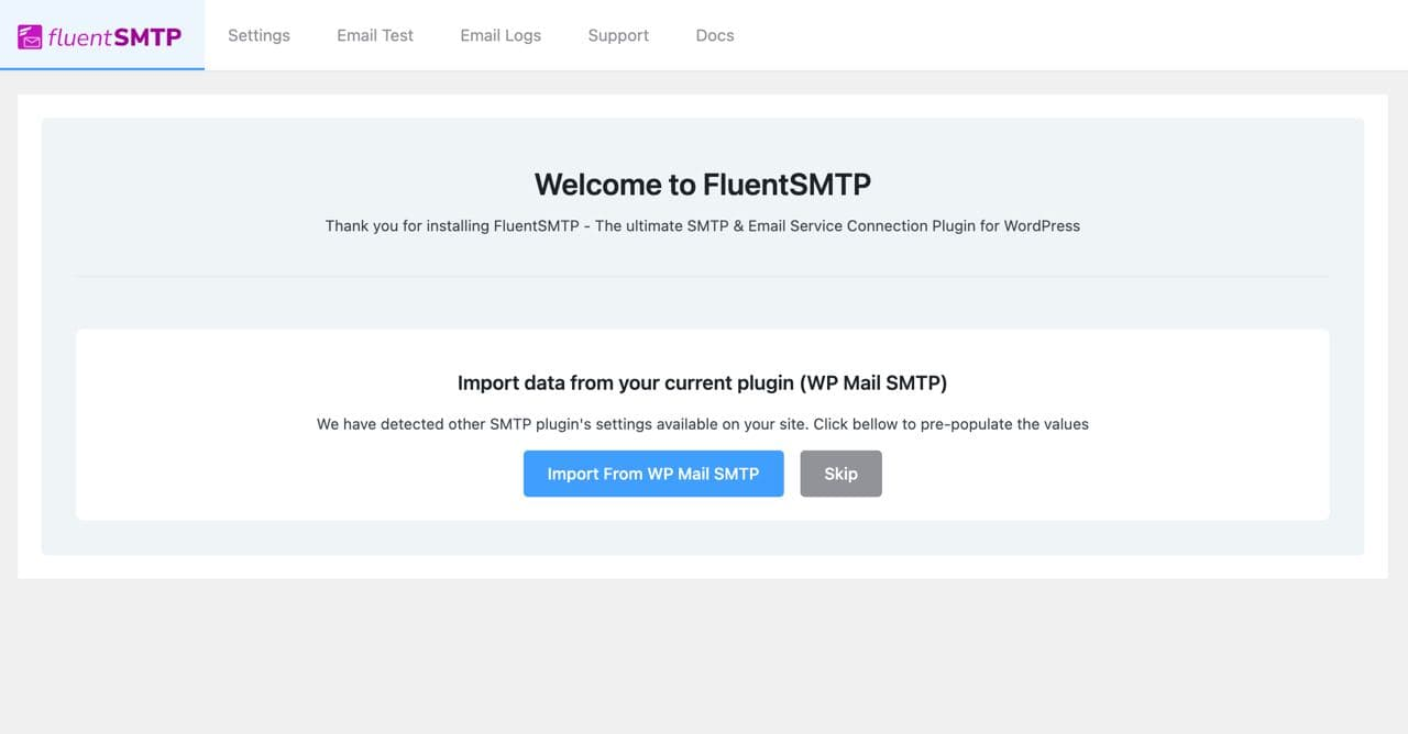 import smtp from wp mail smtp, import smtp from easy wp smtp