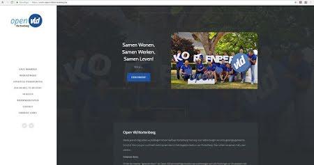 Open Vld Kortenberg lanceert zijn nieuwe Website