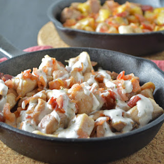 Chicken Bacon Ranch Skillet.