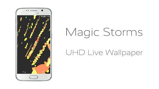 Magic Storms Live Wallpaper