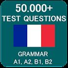 Prueba de gramática francesa icon