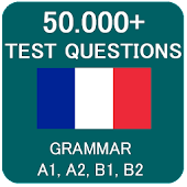 French Grammar Test Icon