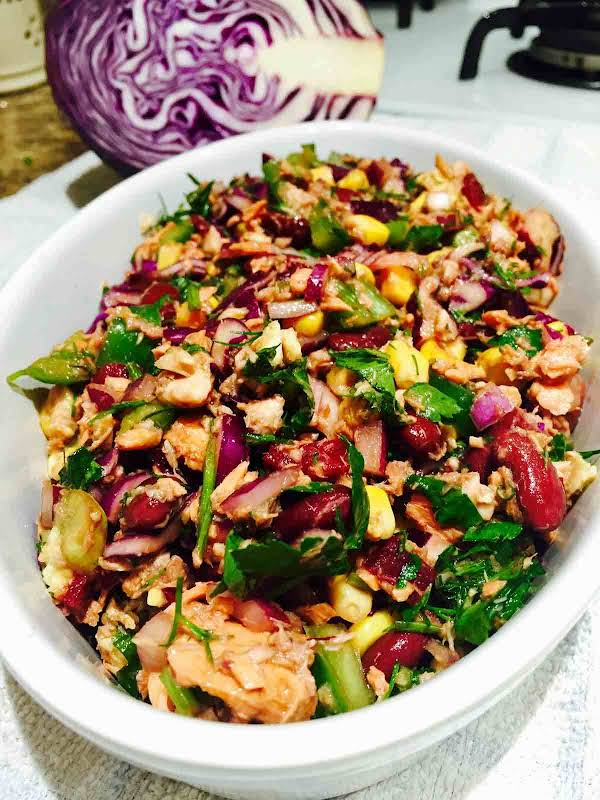 """Lacking Time To Cook? Learn To Prepare This High-protein, Refreshing And Super-healthy """"skinny"""" Tuna Salad."""