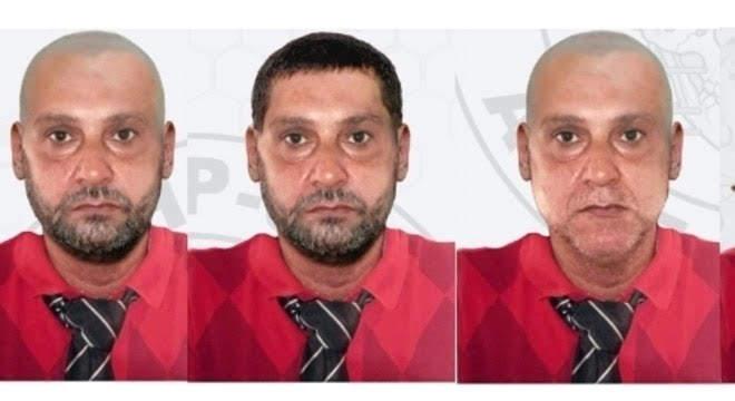 Polícia divulgou possíveis disfarces usados por Paulo Cupertino para fugir após assassinar o ator Rafael Miguel e os pais dele