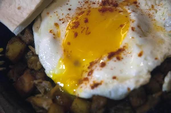 Pulled Pork Breakfast Hash In A Skillet Recipe