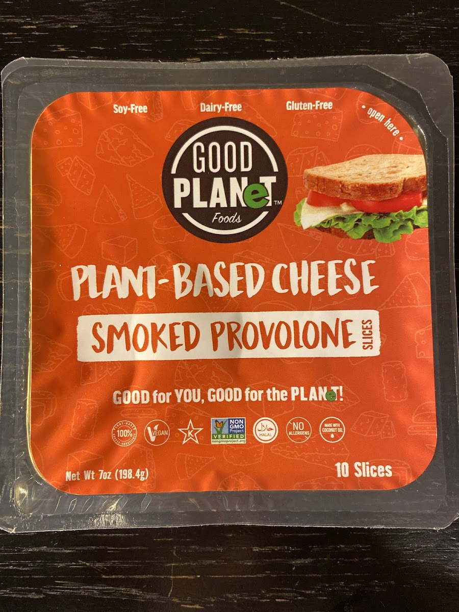 Plant Based Smoked Provolone Slices