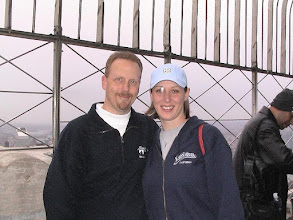 Photo: Engaged on top of Empire State Building