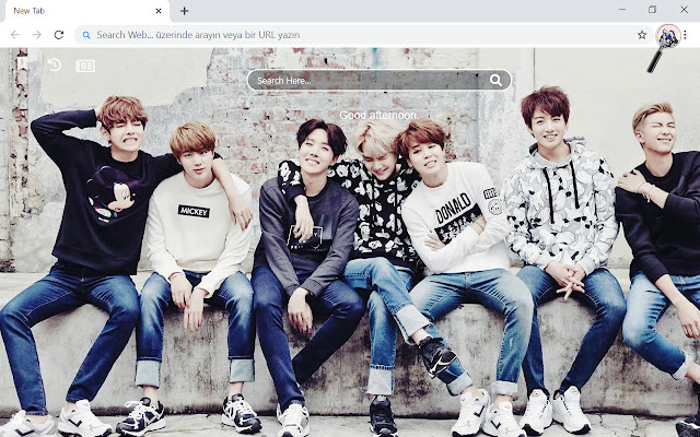 BTS Members HD Wallpapers New Tab Theme