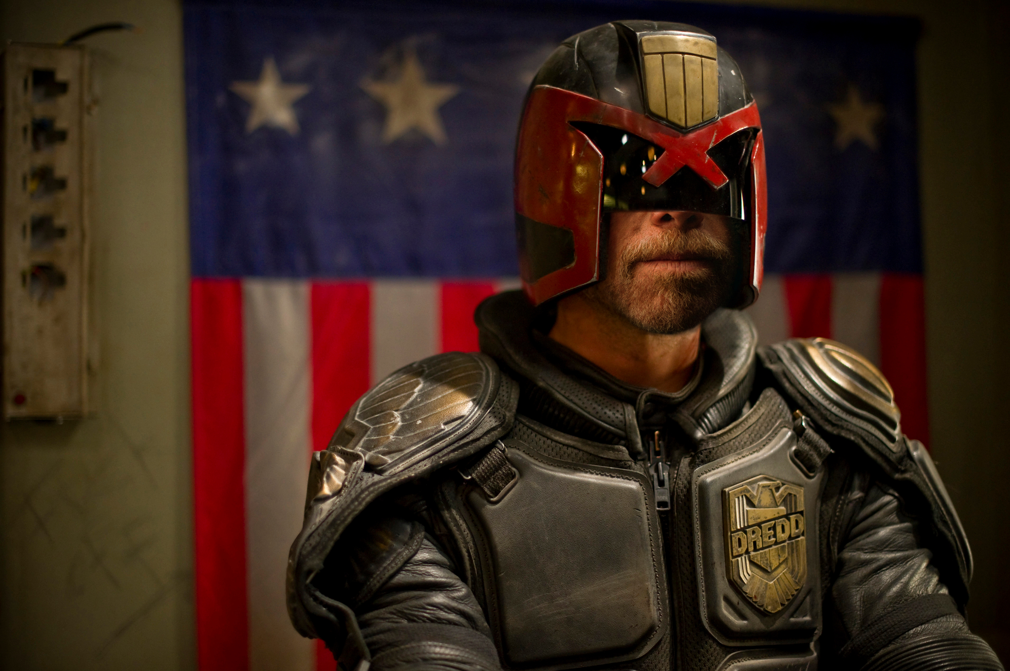 Photo: I enjoyed both Dredd movies. The 1995 Judge Dredd movie is one of those I could watch again and again no matter how bad review it gets. In 2012 remake Karl Urban is as brutal as Stallone. Now the question is, when will Ron Perlman play Dredd?
