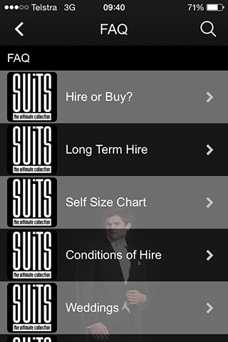 SUITS- screenshot