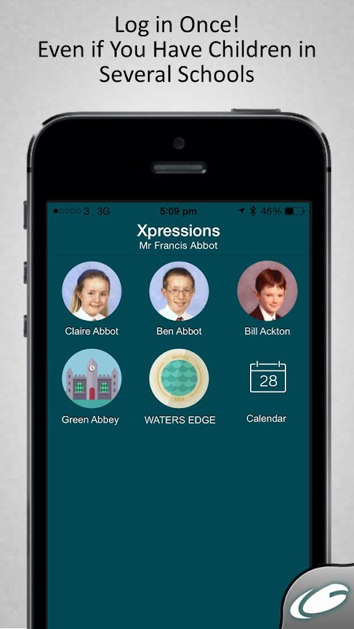 Groupcall Xpressions- screenshot