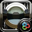 Black K 1 GO Launcher Theme icon