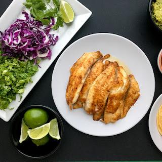 Healthy Fish Taco.