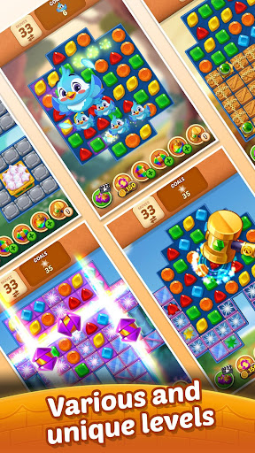 Matching Magic: Oz - Match 3 Jewel Puzzle Games screenshot 4