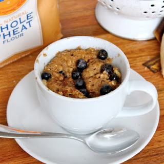Microwave Blueberry Banana Muffin in a Mug.