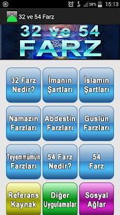 32 ve 54 Farz- ekran görüntüsü küçük resmi