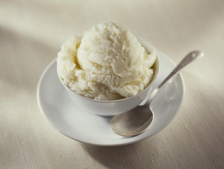 No Churn Vanilla Yogurt Ice Cream Recipe