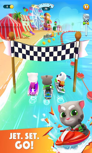Talking Tom Jetski 2 screenshots 1