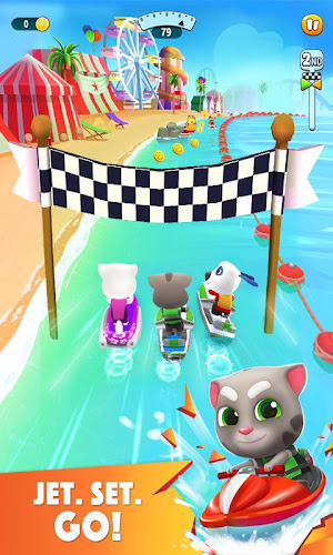 Talking Tom Jetski 2 Android App Screenshot