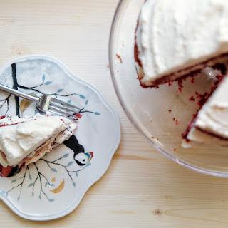 Naturally Red Velvet Cake.