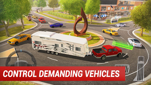 Roundabout 2: A Real City Driving Parking Sim u0635u0648u0631 2