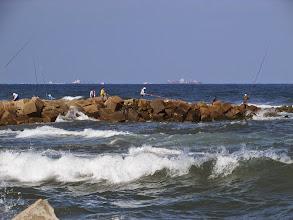 Photo: fuera de la bahía, el mar mediterráneo