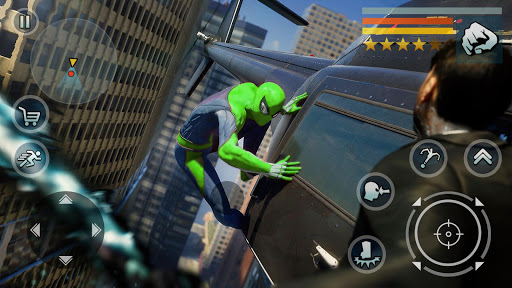 Spider Rope Hero - Vegas Crime city Screen Shot