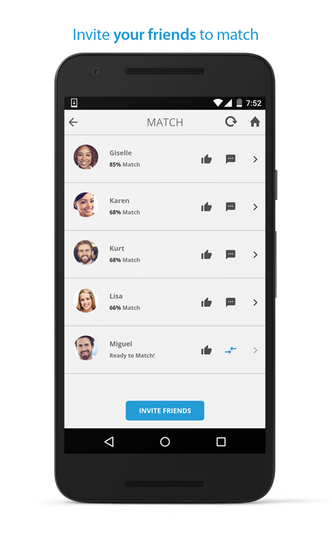 PersonalityMatch- screenshot