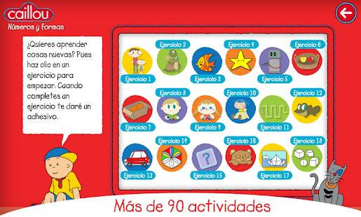 Caillou juegos educativos  Aplicaciones de Android en Google Play