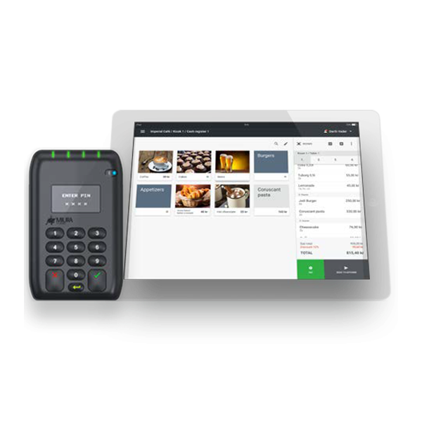 Paybox POS-System, kassesystem, kassesystem paybox, betalingsterminal, mobilt kassesystem