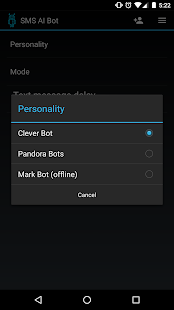 SMS AI Bot - náhled