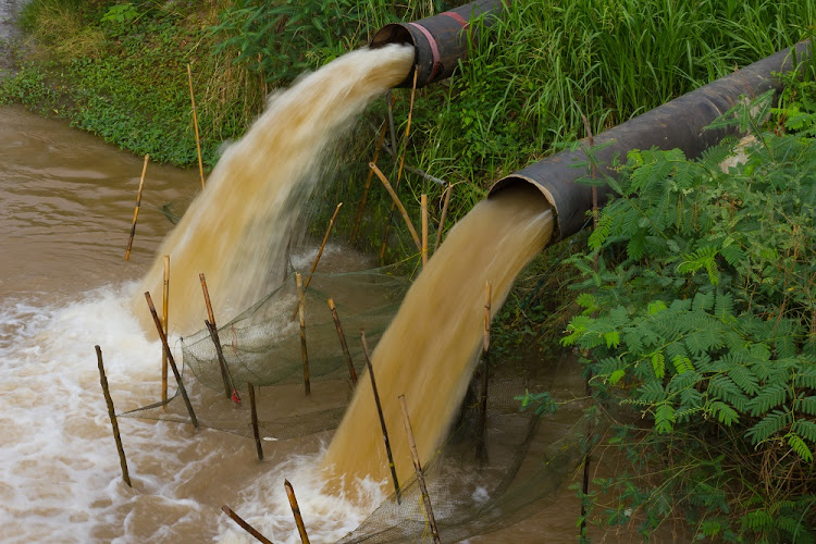 South Africa's sewage system collapse a 'time bomb'.