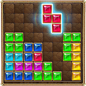 Puzzle Block Jeweled
