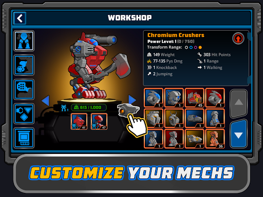 Download Super Mechs MOD APK 9