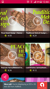 Mehndi Designs Video - náhled
