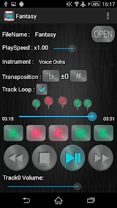 Simple Midi Player Pro screenshot 1